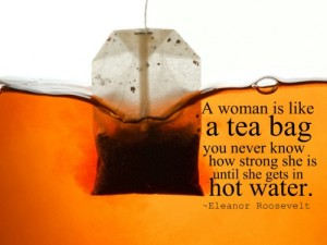 Eleanor Roosevelt Tea Bag